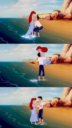 The little mermaid Little Mermaid Wallpaper, Mermaid Wallpapers, Ariel The Little Mermaid, Old Disney, Disney Art, Disney Movies, Wallpaper Iphone Disney, Cute Disney Wallpaper, Ariel Wallpaper