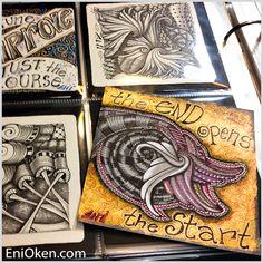 Learn how to create amazing Zentangle®️ • enioken.com