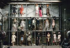 Marc Jacobs by Annie Leibovitz for Vogue US January 2012