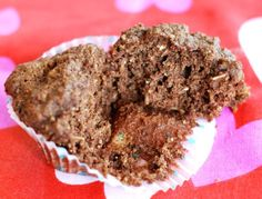 muffins de chocolate individual