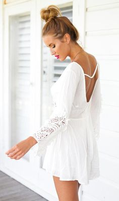 9f3e7d9c6c1 Camille Deep V-Neck Long Sleeve Beach Dress - Happy Hippie Boho Summer  Dresses 2018
