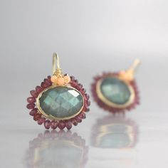 The material is Solid Gold- high quality product. Rose Gold Diamond Stud Earrings : SETTING Metal: Rose Gold Certificate: CJC (Camellia Jewelry C Unique Earrings, Etsy Earrings, Statement Earrings, Unique Jewelry, Earings Gold, Labradorite Jewelry, Moonstone Earrings, Handmade Silver, Mandala