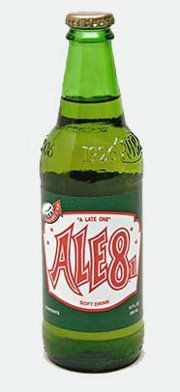 Ale-8 One soft drink has been bottled in Winchester, Kentucky since 1926.