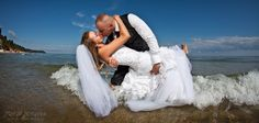 Wedding session at the seaside