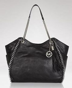 get in my closet! mk leather tote