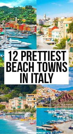 12 Prettiest Beach Towns In Italy You Must See - - Italy Travel Tips, Europe Travel Guide, European Travel Tips, Italy Vacation, Vacation Spots, Amalfi, Places To Travel, Places To Visit, Travel Diys