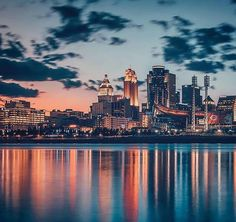 Cincinnati is beautiful in this shot from Instagrammer @tonyhensonphotography.