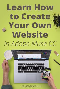 Have you ever wanted to learn Adobe Muse?Here's an excellent resource for you to check out and Learn How to Create Your Own Website in Adobe Muse CC!