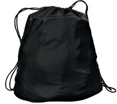 2-Tone Cinch Pack Bag #WomenGymBags