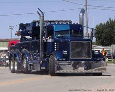 Big rig wrecker