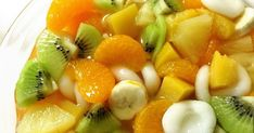 Fruit Salad, Bread Recipes, Sweet Tooth, Sweets, Snacks, Desserts, Foods, Party, Table