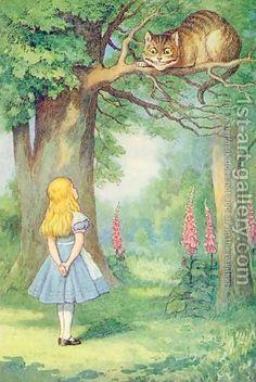 Tenniel's Alice