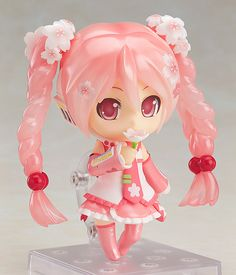 "Nendoroid Sakura Miku: Bloomed in Japan | very first of the ""MADE IN JAPAN"" Nendoroids and also the commemorative Nendoroid No. 500 