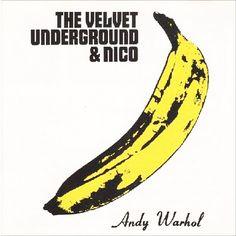 """A capa do disco """"The Velvet Underground & Nico"""" foi motivo de disputa entre a banda e a Fundação Andy Warhol."""