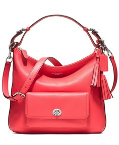 COACH LEGACY LEATHER COURTENAY HOBO - Crossbody & Messenger Bags - Handbags & Accessories - Macy's