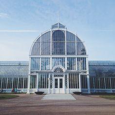 Palm House, Trädgrådsföreningen, Gothenburg, Sweden