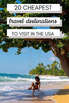 Looking for budget friendly destinations in the United States? Whether you're looking for a beach getaway or more of an adventure these cheap destinations in the US are budget friendly and perfect when you're looking for a cheap destination. Us Travel Destinations, Cheap Honeymoon Destinations, Cheap Places To Travel, Cheap Travel, Budget Travel, Vacations In The Us, Cheap Beach Vacations Usa, Travel Usa, Travel Packing