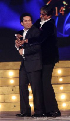 #Sachin with  #AmitabhBachchan
