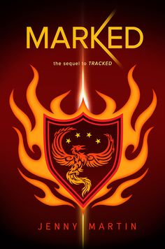 #CoverReveal  Marked (Tracked, #2) by Jenny Martin
