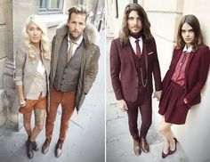 I have absolutely fallen in love with The Kooples' ad campaign, which features real-life couples looking drop-dead cool and outfitted in interchangeable separates by Kooples, of course. A bit of rock 'n' roll with a British edge