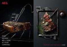 AEG SenseCook oven: geen temperatuur instellen, maar de juiste garing van je vlees...