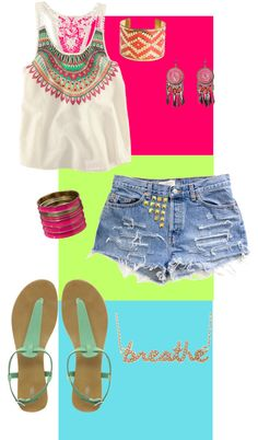boho, created by juliahyman on Polyvore