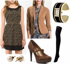 Color Combo to Try: Black + Brown – College Fashion