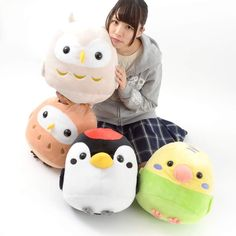 picture of Kotori Tai Yama no Saezuri Bird Plush Collection (Big) 1