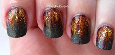 Amazing Hunger Games 'Girl on Fire' mani