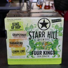 New brews coming soon to royally refresh your Monday... #FourKings #newstarrhill #starrhillbrewery by starrhillbrewery