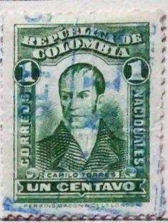 Personajes y motivos colombianos 1917 CAMILO TORRES