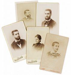 Proust portraits des membres de sa famille