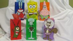 Spongebob Party Bags