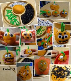 Halloween - Stimulating Learning Pumpkin dough - from Rachel ( Halloween Math, Halloween Activities, Autumn Activities, Halloween Themes, Halloween Pumpkins, Halloween Crafts, Happy Halloween, Slime, Nursery Activities