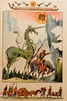 Val Munteanu - Din cele mai frumoase basme ale lumii Children's Book Illustration, Book Illustrations, Animal Costumes, Art Inspo, Fairytale Book, Fairy Tales, Children Books, Fantasy, Folklore