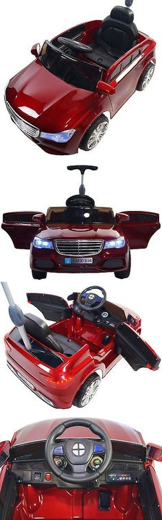 Toy Vehicles 145946: Mercedes 12V Battery Powered Electric Ride On Kids Toy Car Remote Rc Red -> BUY IT NOW ONLY: $319 on eBay!