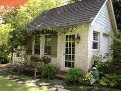 garden shed | ... Noted: Crush of the Month: Dreamy Garden Sheds {aka Backyard Retreats