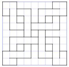 reproSurQuadrillage3 Quilt Square Patterns, Barn Quilt Patterns, Square Quilt, Graph Paper Drawings, Graph Paper Art, Geometric Drawing, Geometric Art, Geometric Designs, Barn Quilt Designs