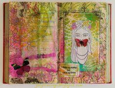 Scrap in Progress: Frida AJ page