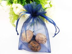 Wuligirl 100 PCS Navy Blue Drawstring Organza Bags for Coins Pouch Gift Bags Lavender Coffee Beans Teas Nuts Seeds Jewelry Bags 100 pcs Navy Blue -- Find out more about the great product at the image link. (This is an affiliate link) Christmas Favors, Organza Bags, Blue Bags, Bean Bag, Coffee Beans, Gift Bags, Gift Baskets, Lavender, Pouch
