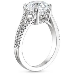 """What is a """"surprise"""" detail on an engagement ring? It's a special element, like a surprise diamond, that you can't see from the top view of the ring, or don't notice unless you're looking very closely."""