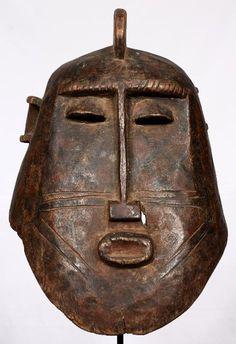 Máscara Bobo-Fing de 43,5 cm de altura. Originaria de Burkina Faso.