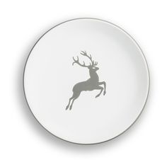 Hier geht's zum Produkt: Grauer Hirsch, Dessertteller Cup (Ø 20cm) Urban Lifestyle, Decorative Plates, Products, Handmade, Microwave, Gadget