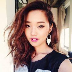 Jenn Im's red hair