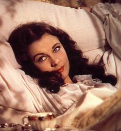 Gone With The Wind. Scarlett O'Hara. I'd smile too if I had just spent the night with Rhett Butler.