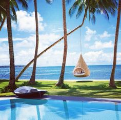 The Dedon Island Resort in the Philippines houses private villas on the island dubbed as the surfing capital of the area. Look inside the the resort to see why it lands on Tablet's Top 25 Coolest Hotels list. Resorts In Philippines, Siargao Philippines, Voyage Philippines, Les Philippines, Philippines Culture, Philippines Travel, Hotels And Resorts, Best Hotels, Unique Hotels