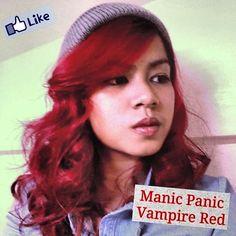 Manic Panic Vampire Red! :)