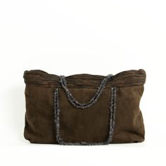 Brown suede evening bag / small evening brown bag / women evening bags