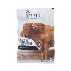 2 oz Coconut Carnivore Beef Jerky Mix by Epic - Thrive Market
