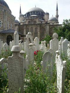 #Istanbul #Turkey #cemetery